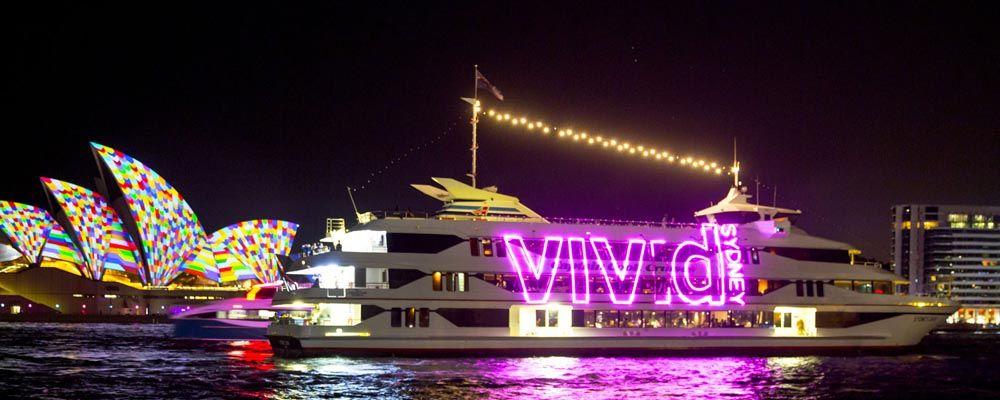 Harbour Lights Vivid Sydney Precinct