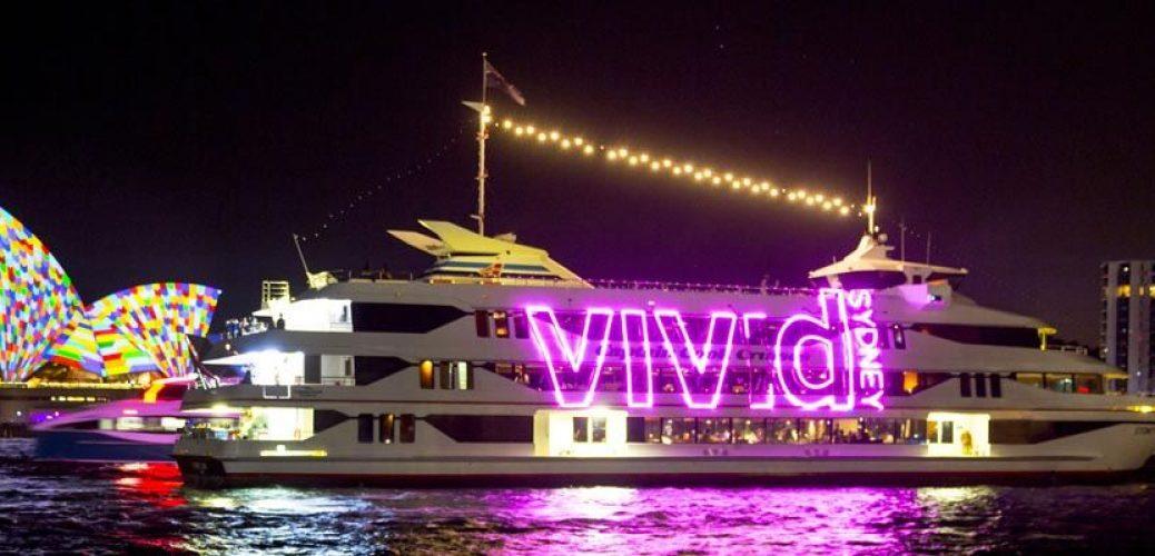 Harbour Lights at Vivid Sydney 2016