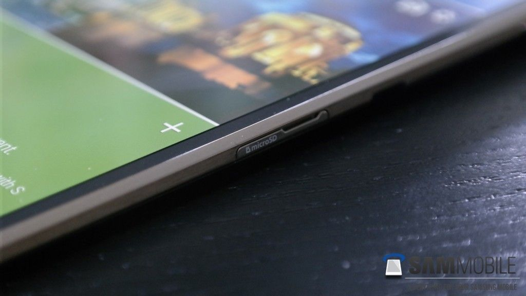 Samsung Galaxy Tab S Side