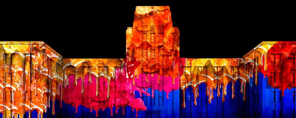 The Matter of Painting at Vivid Sydney 2016