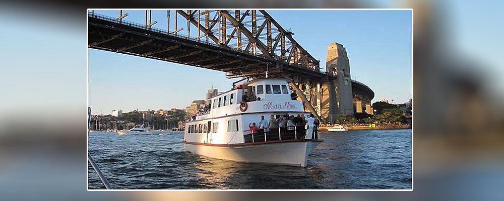 Tribal Warrior on Vivid Sydney Cruises