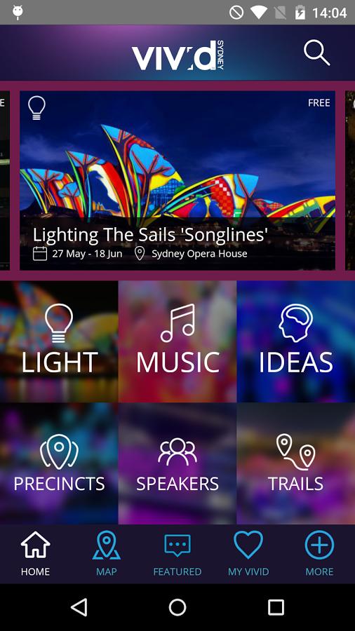 Vivid Sydney App 5