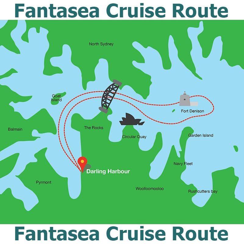 Vivid Sydney Fantasea Route