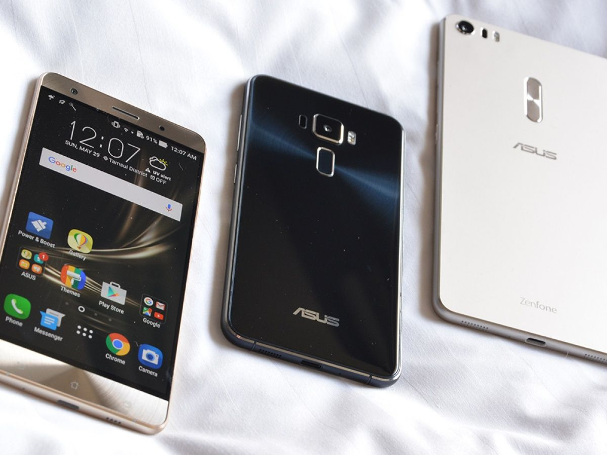 Up close with the ASUS ZenFone 3 series