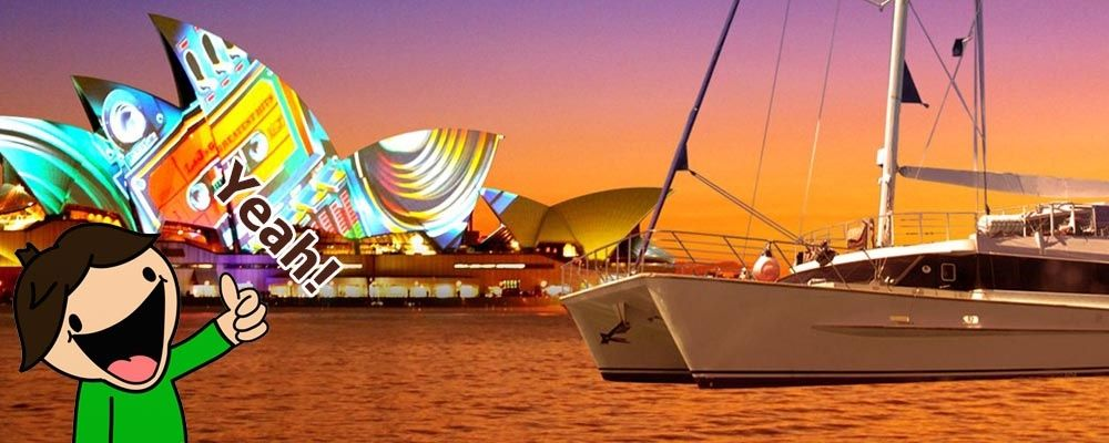Super Affordable Vivid Cruise Deals from Sydney