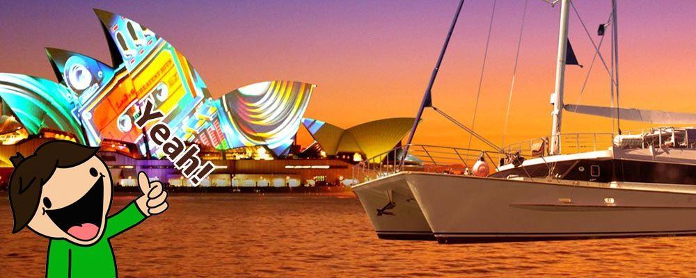 Australian Cruise Group Vivid Sydney Cruise
