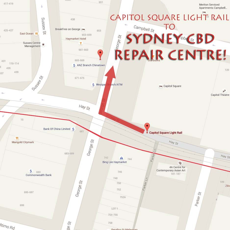 Capitol Square Map