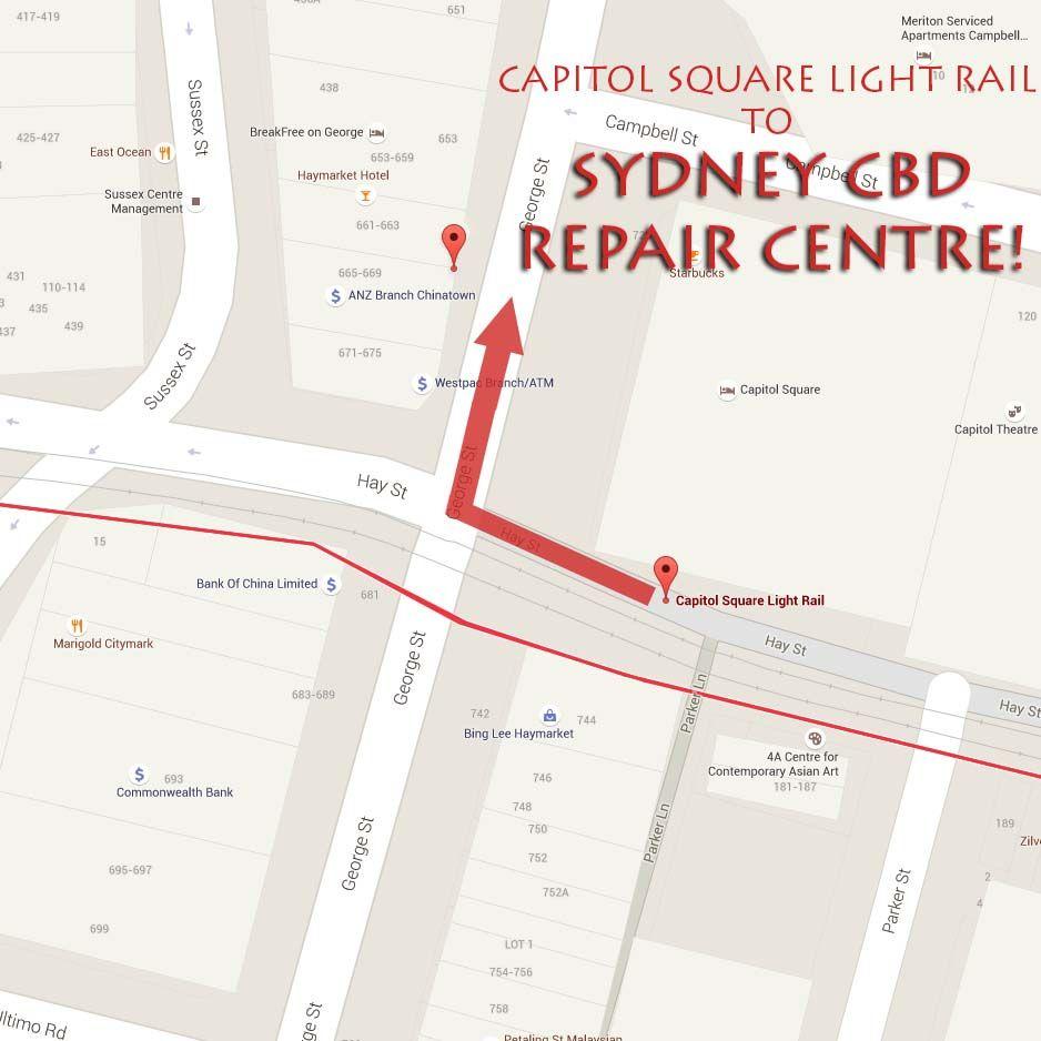 Capitol Square Map