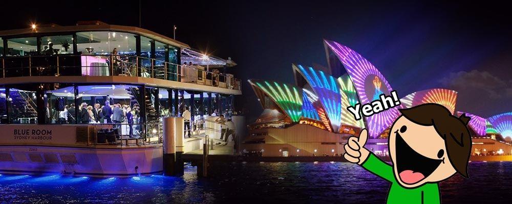 Best Vivid Sydney Dinner Cruise