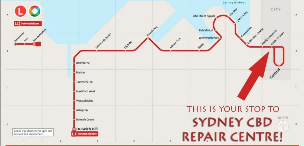 Sydney Light Rail Network