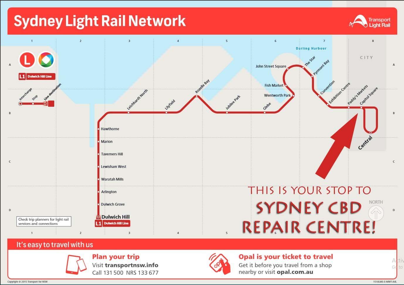light rail sydney cbd accommodation - photo#21