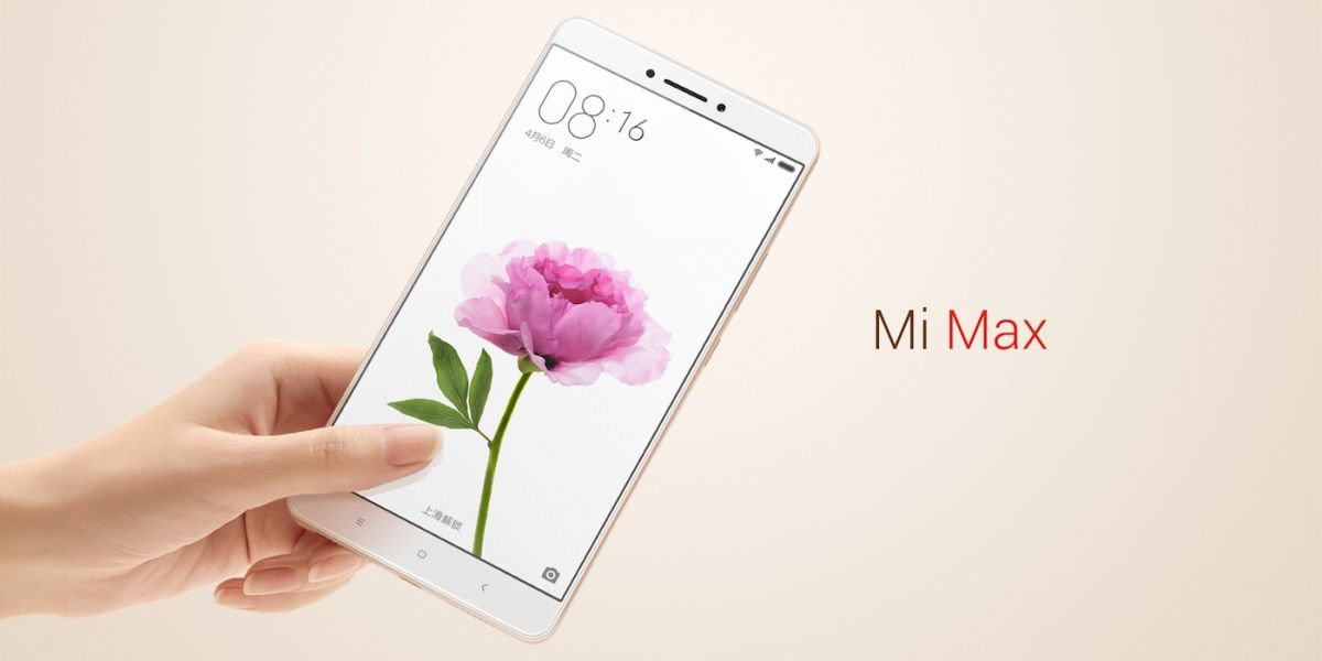 Xiaomi's Mi Max phone has a huge display and a big battery