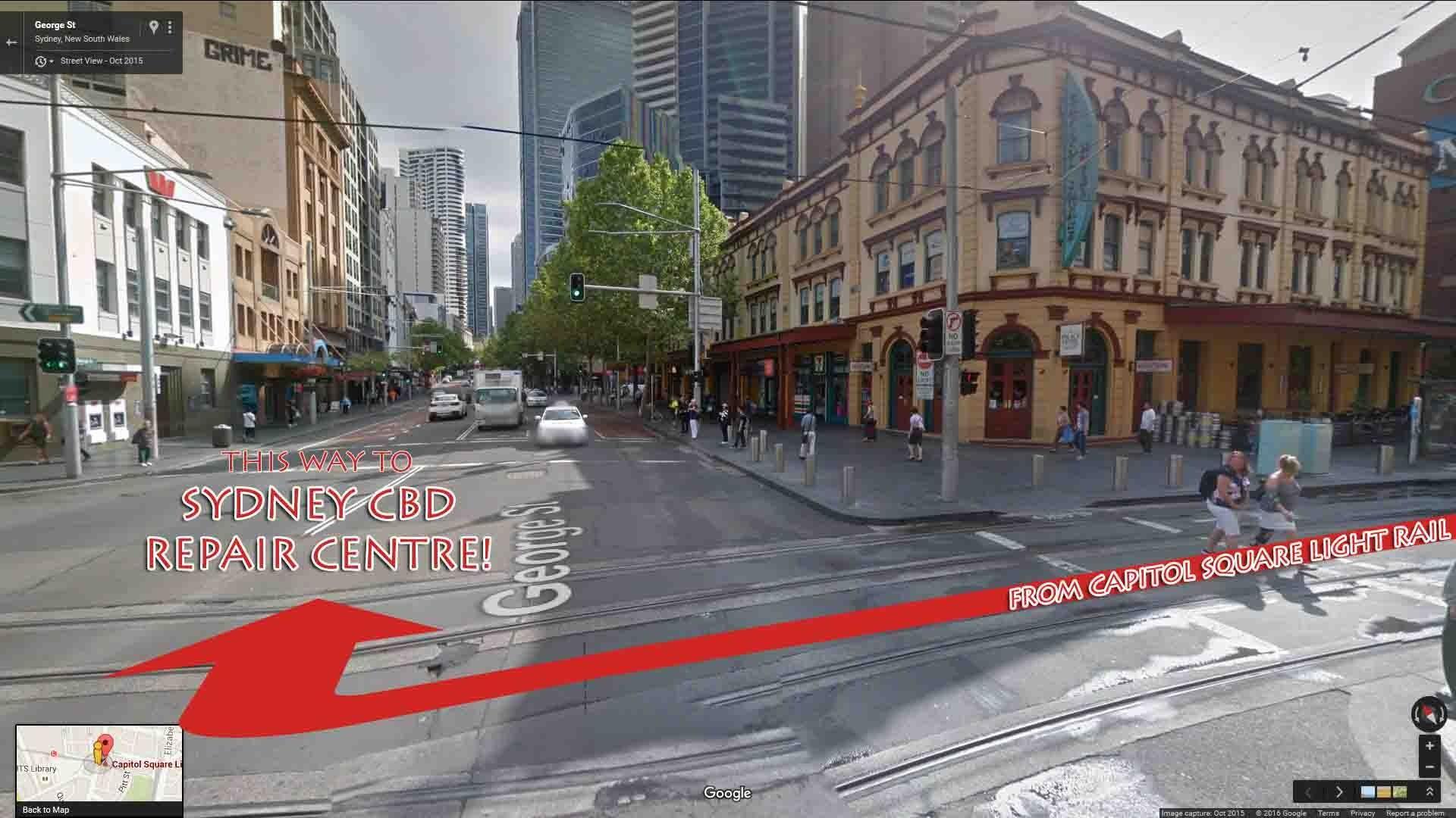 light rail sydney cbd accommodation - photo#2