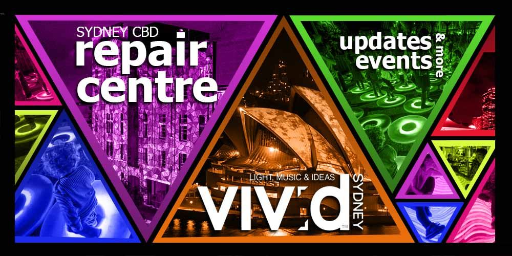 Vivid Sydney Updates Events