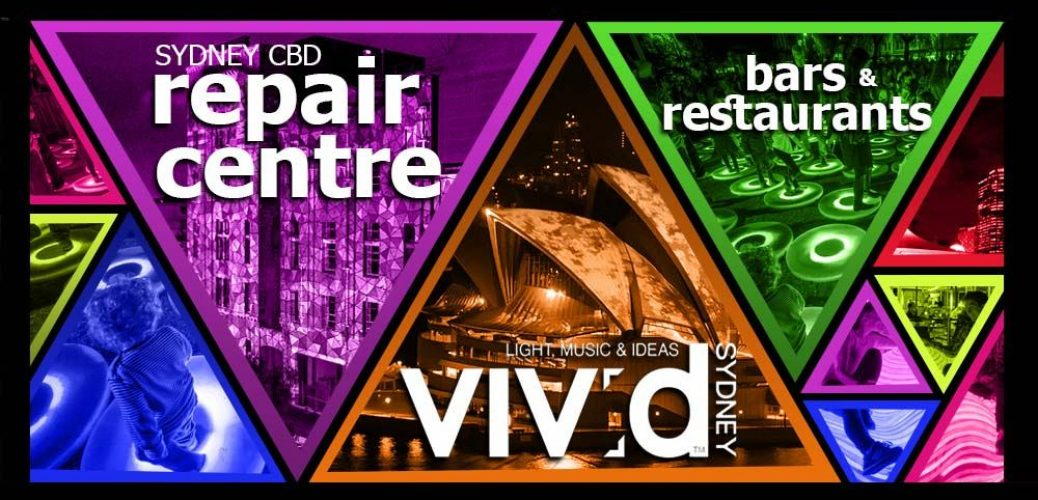 Vivid Sydney Bars and Restaurants