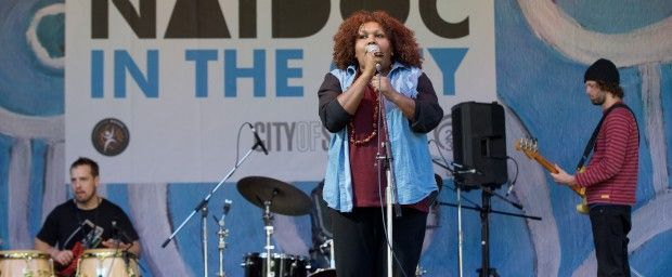 Radical vocalist headlines NAIDOC in the City