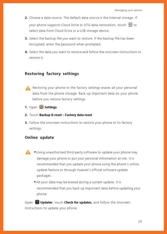 User manual huawei Mate 10 pro How to rooter Le