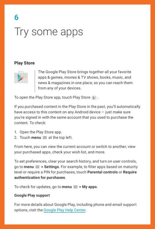 Google Nexus 6P Manual
