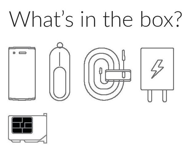 OnePlus One Whats in the Box