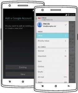 OnePlus One Setup Email