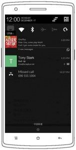 OnePlus One Notifications