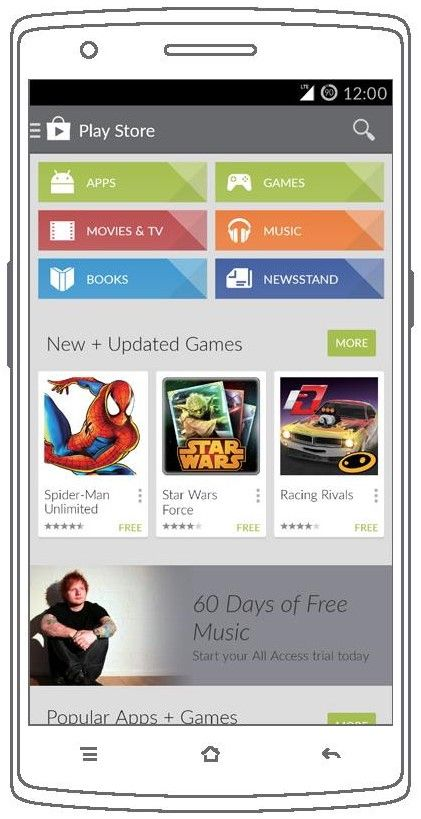 OnePlus One Google Play