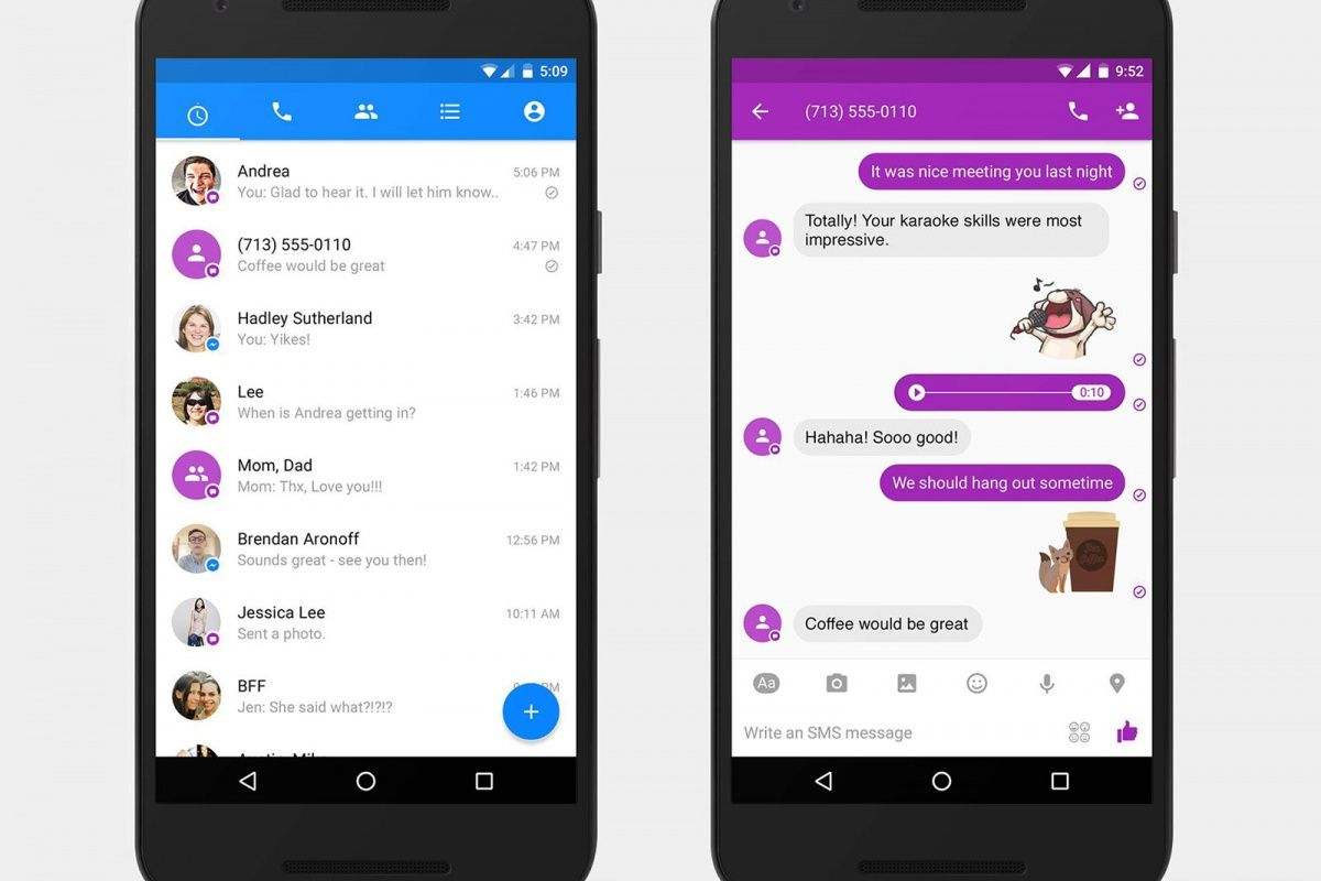 Facebook Messenger's SMS push might break Android app rules