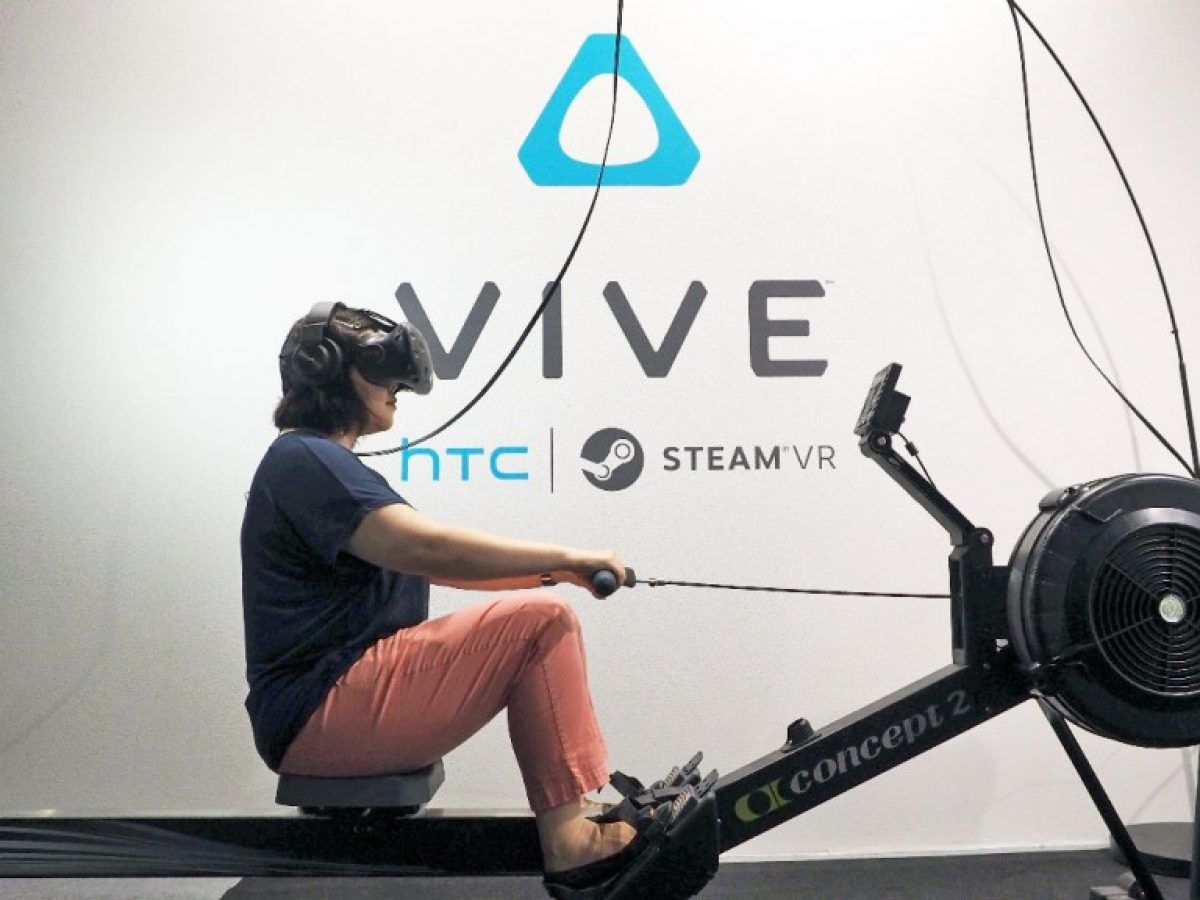 nicole goes vr rowing ed