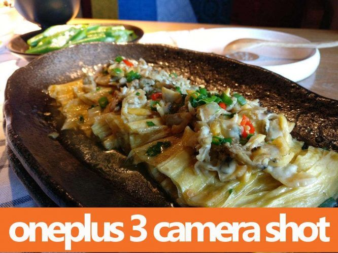 OnePlus 3 Leaked Camera Shot