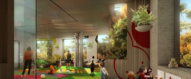Bourke Street childcare centre 620x256