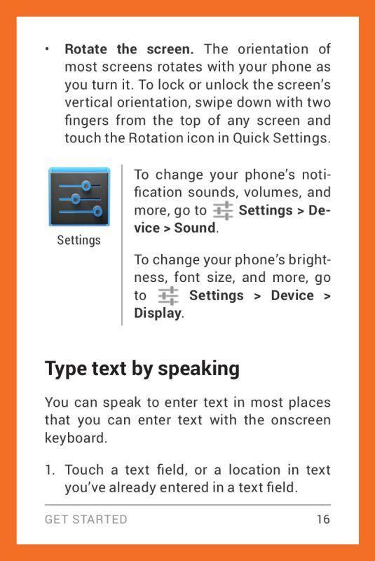 LG Google Nexus 4 Manual