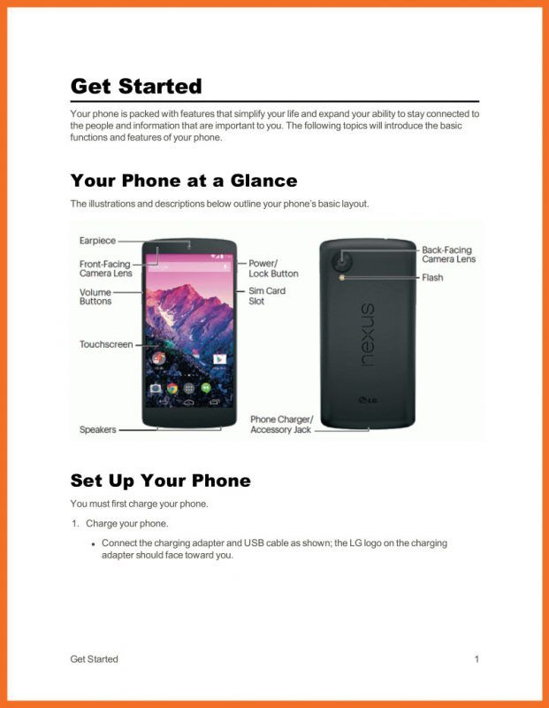 lg nexus manual