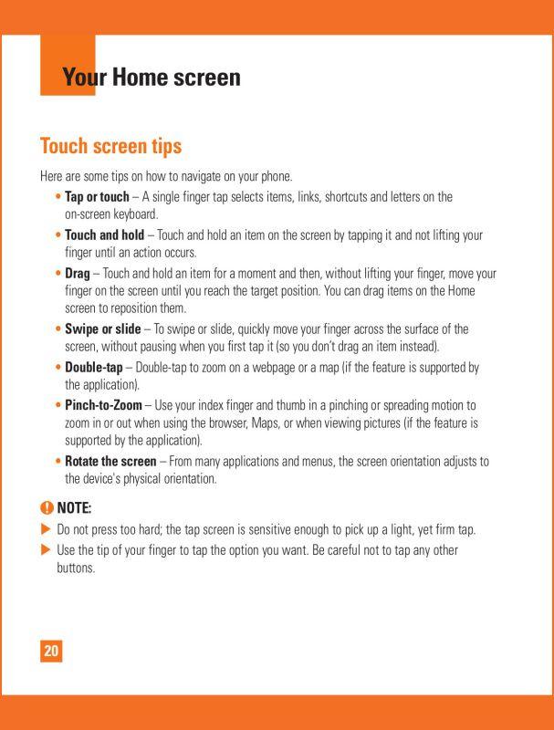 LG G Flex 2 Manual