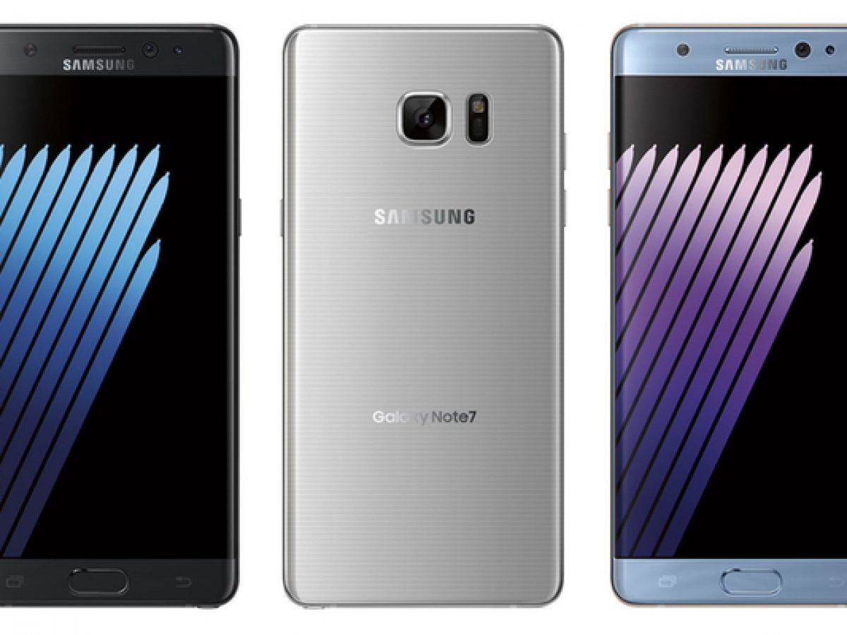 Samsung Galaxy Note 7 revealed in three color variants with iris scanner and curved display