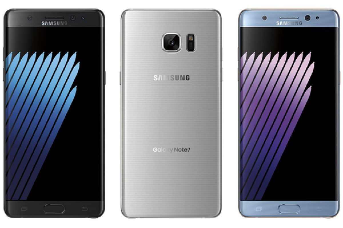 Samsung Galaxy Note 7 Colors1