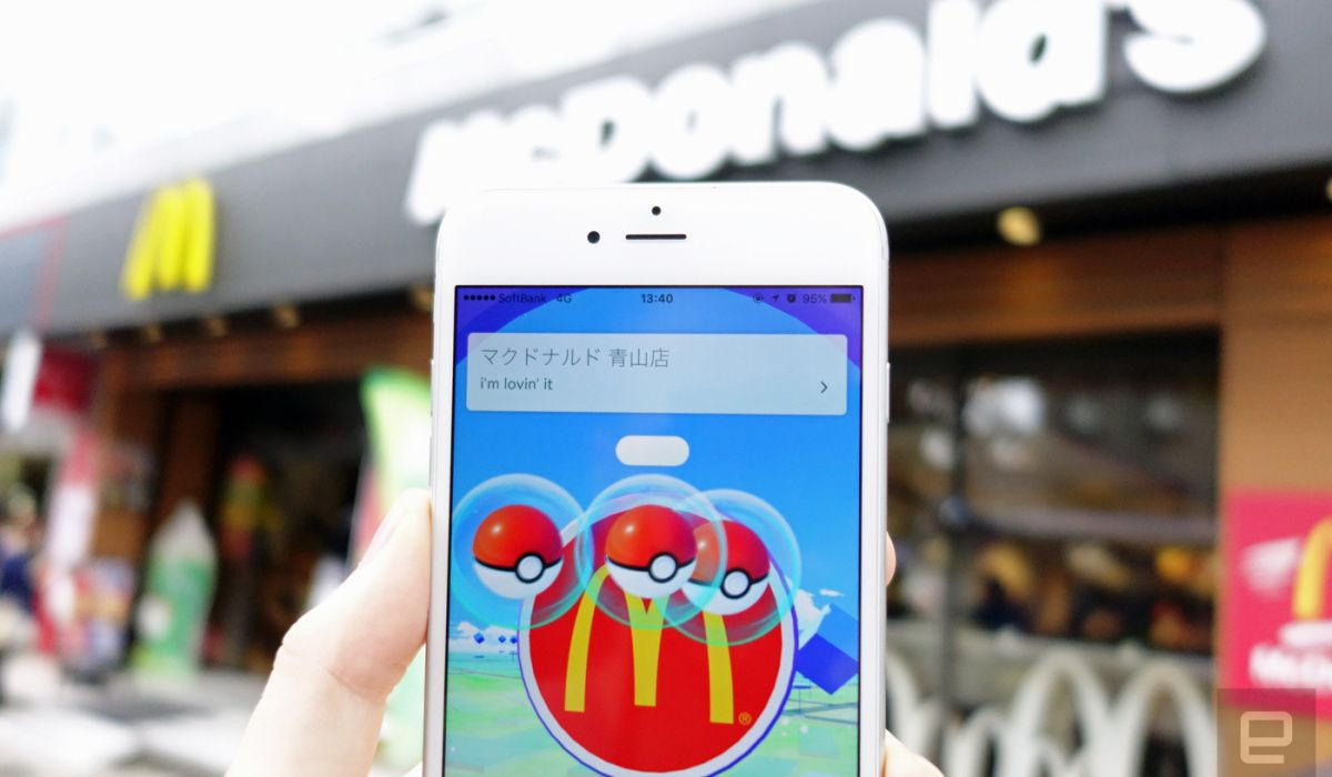 'Pokemon Go' launches in Japan under golden arches