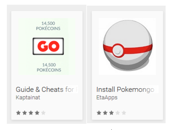 Pokemon GO Fake Apps