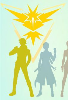 pokemon go team valor