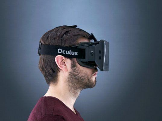 Oculus Rift Headset Shoot