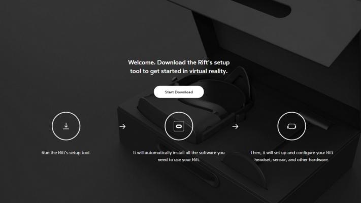 Oculus Rift Installer