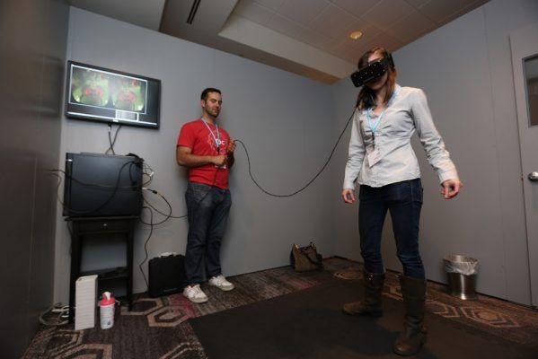 Oculus Rift Play Area