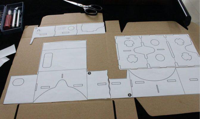 google cardboard glued