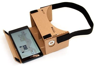 DIY Google Cardboard Headstrap