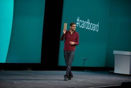 google cardboard launch