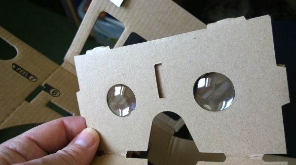 google cardboard lens