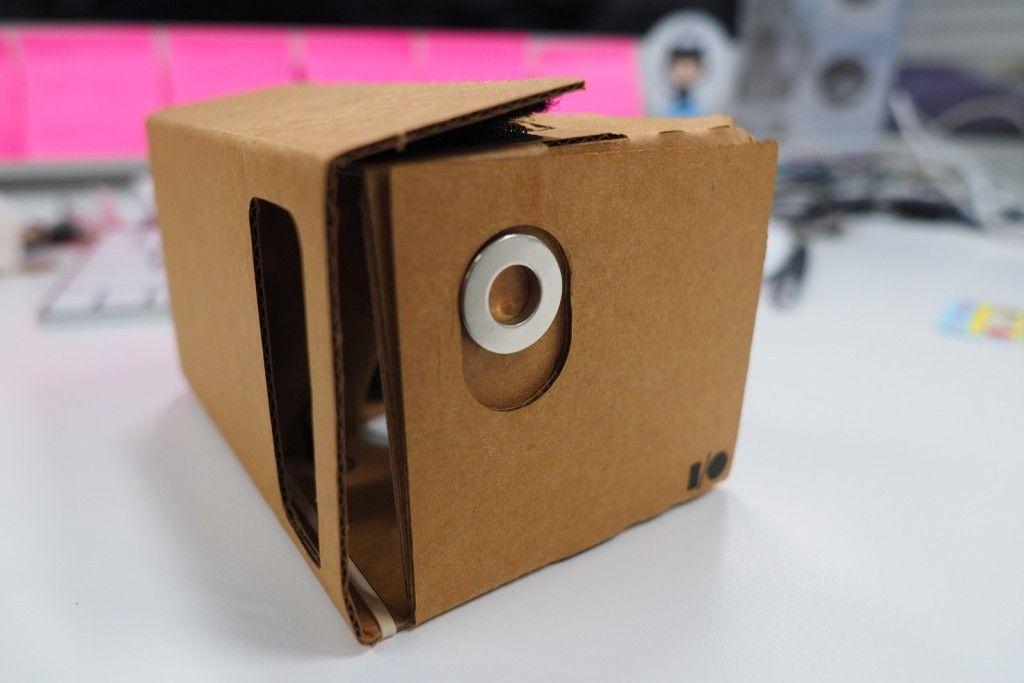 google cardboard magnet