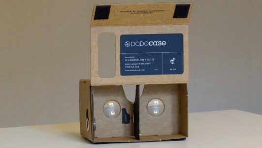 google cardboard nose bridge