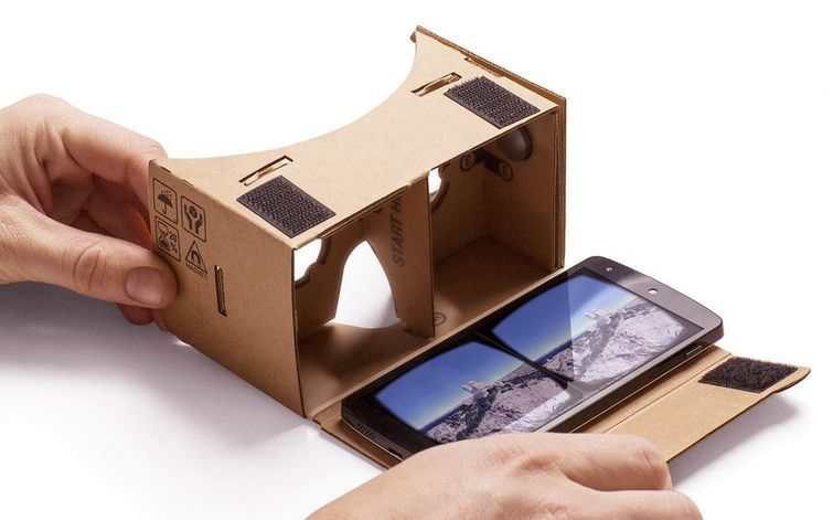 how to use google cardboard