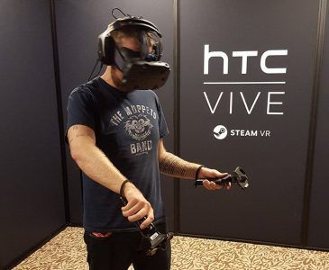 htc vive play