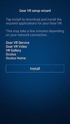 samsung gear oculus app